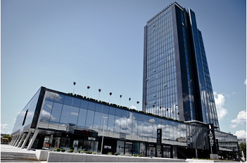 business centre in Ljubljana